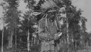 Frank Hall, Chief. At Camp Chief Hector 1933