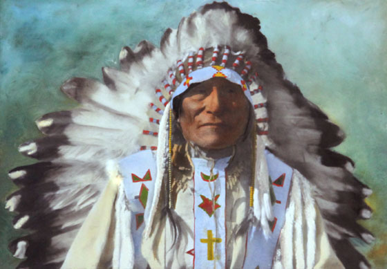 Origins Of Camp Chief Hector Cch Golden Tipi