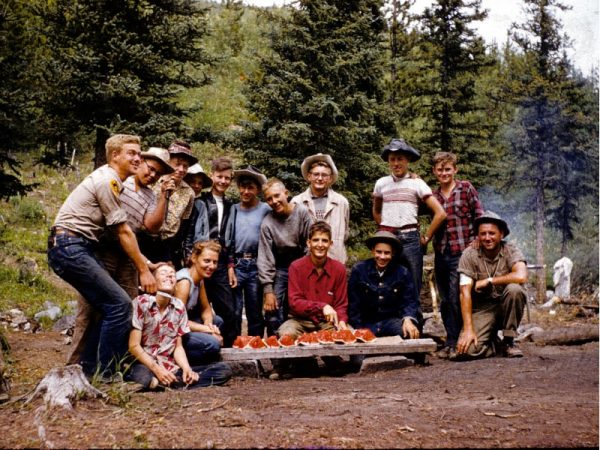 Camping in the Fifties | CCH Golden Tipi